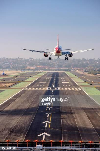 Vue aérienne de l'aéroport International de San Diego
