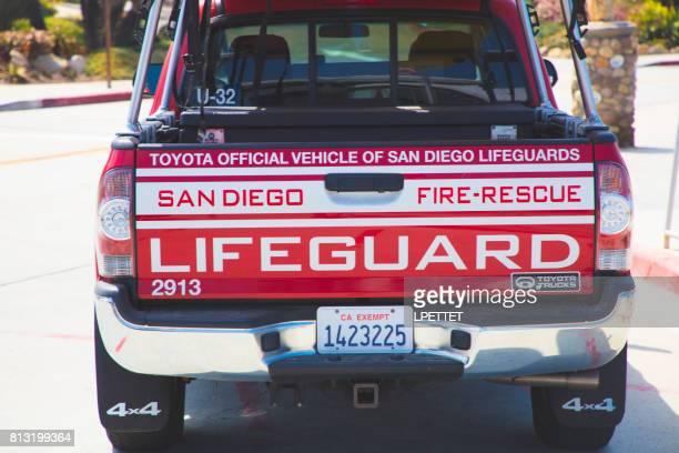 San Diego Lifeguard Truck