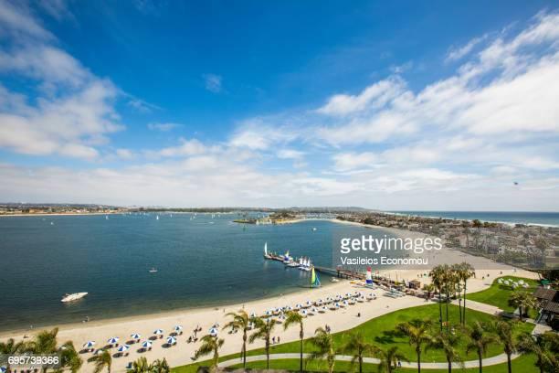 San Diego-Mission Bucht und Strand