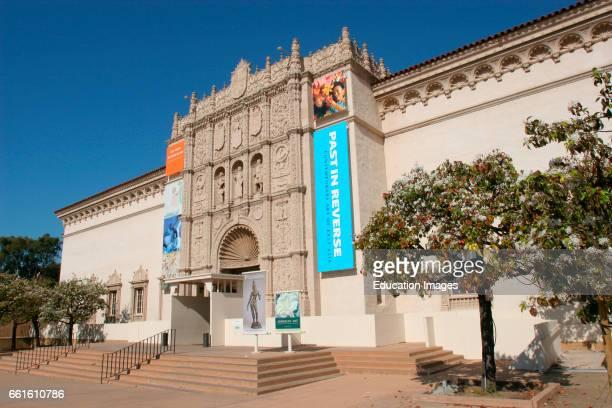 San Diego Museum Of Art Balboa Park San Diego California