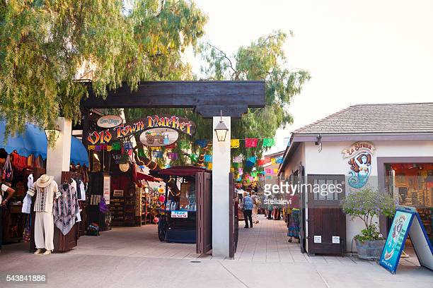 san diego old town market entrance - old town stock pictures, royalty-free photos & images