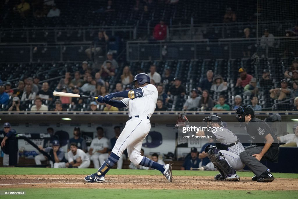 MLB: AUG 30 Rockies at Padres : News Photo