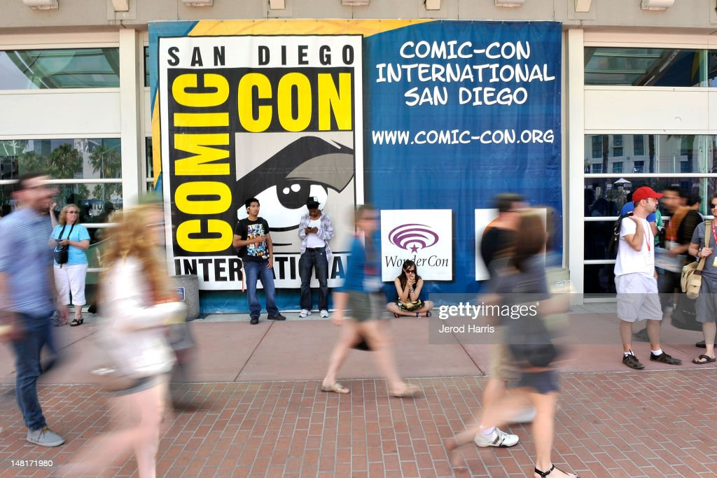 San Diego Prepares For 2012 Comic-Con : News Photo