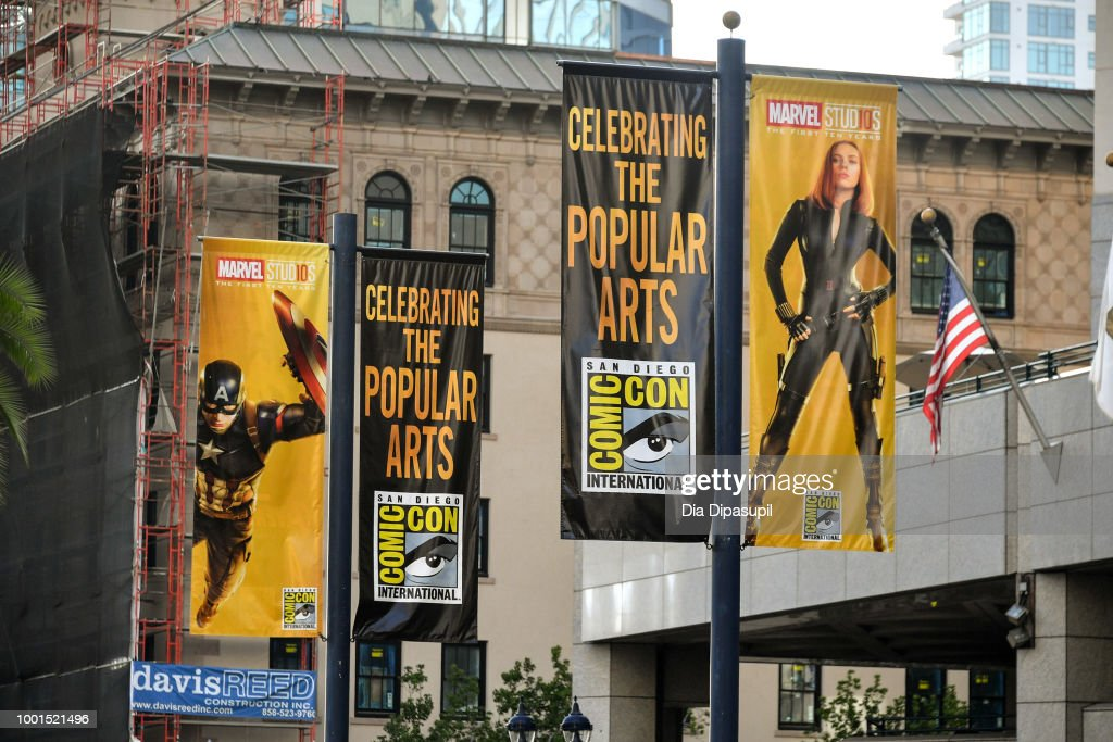 San Diego Prepares For Comic-Con International 2018