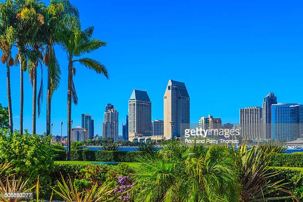 san diego skyline, ca - san diego stock pictures, royalty-free photos & images