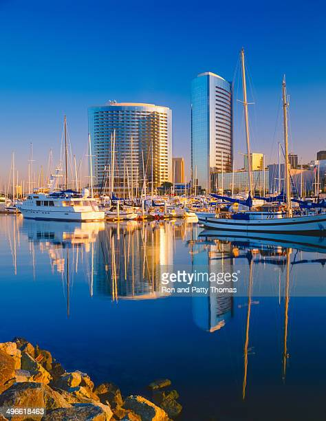 san diego skyline, california - san diego stock pictures, royalty-free photos & images