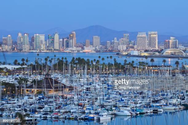 San Diego Skyline - Night