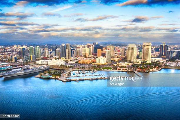 san diego skyline - san diego stock pictures, royalty-free photos & images