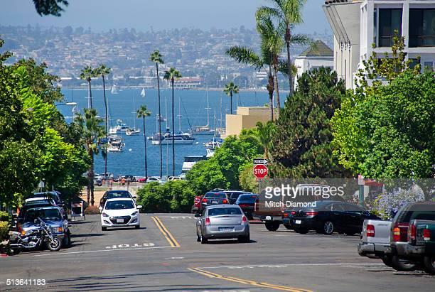 San Diego street scene