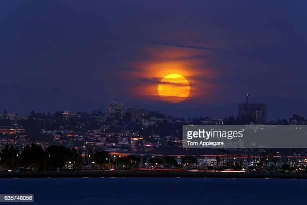 San Diego Supermoon