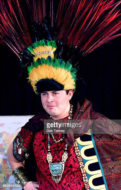 San Diego––San Diego State University today introduced Montezuma the university's politically–correct historically accurate Aztec campus ambassador...