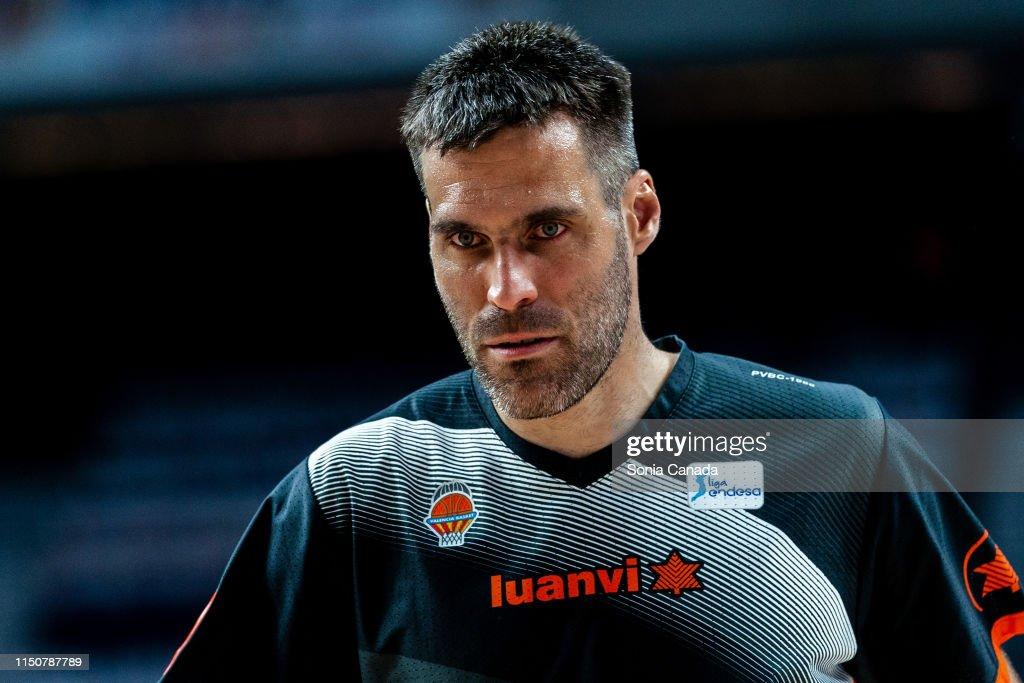 ESP: Real Madrid v Valencia - Liga ACB