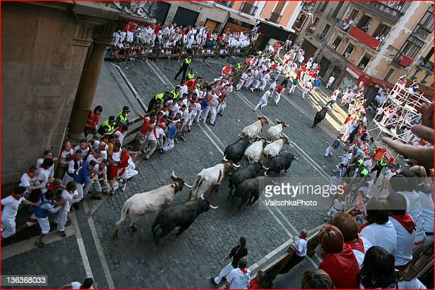 san fermin  festival - pamplona stock photos and pictures