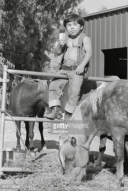San Fernando California People In Pictures Herve Villechaize sits on a fence watching some of his stock graze Not too long ago Herve was bitterly...