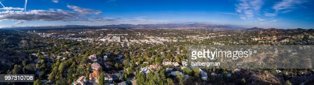 San Fernando Valley - Aerial Panorama