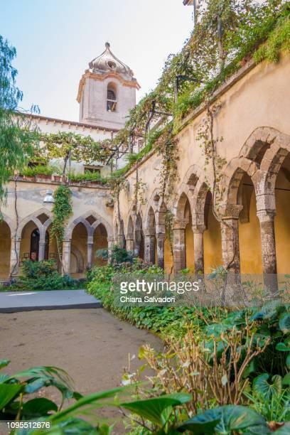 san francesco cloister, sorrento - sorrento italy stock pictures, royalty-free photos & images