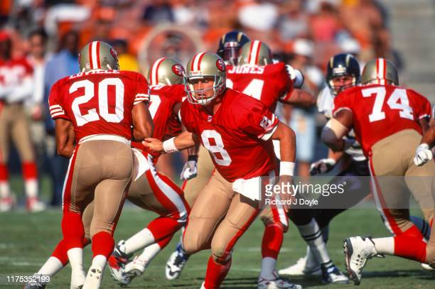 San Francisco 49ers 17 vs San Diego Chargers 6 at Jack Murphy Stadium in San Diego California