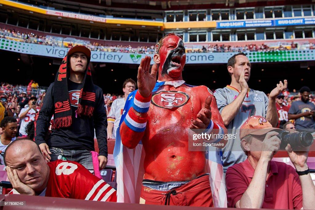 NFL: OCT 15 49ers at Redskins : News Photo