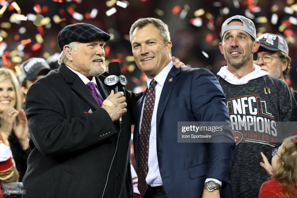 NFL: JAN 19 NFC Championship - Packers at 49ers : News Photo