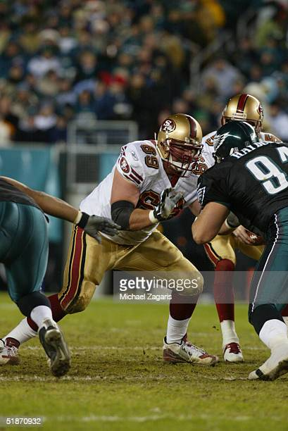San Francisco 49ers offensive guard Kyle Kosier at Lincoln Financial Field on in Philadelphia PA The San Francisco 49ers defeated the Philadelphia...