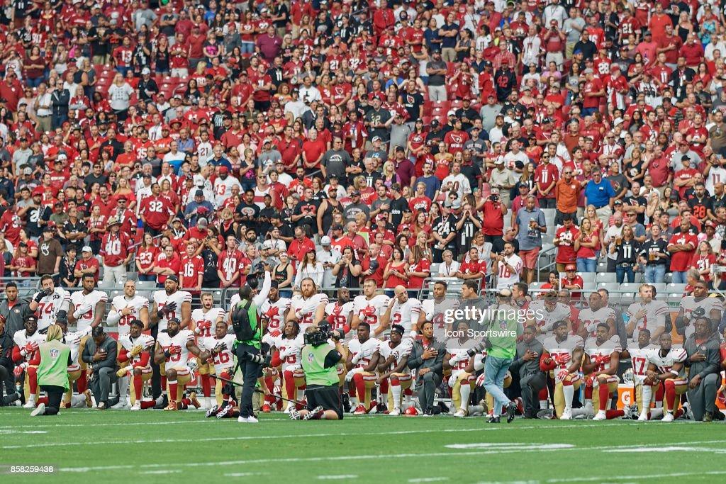 NFL: OCT 01 49ers at Cardinals : News Photo