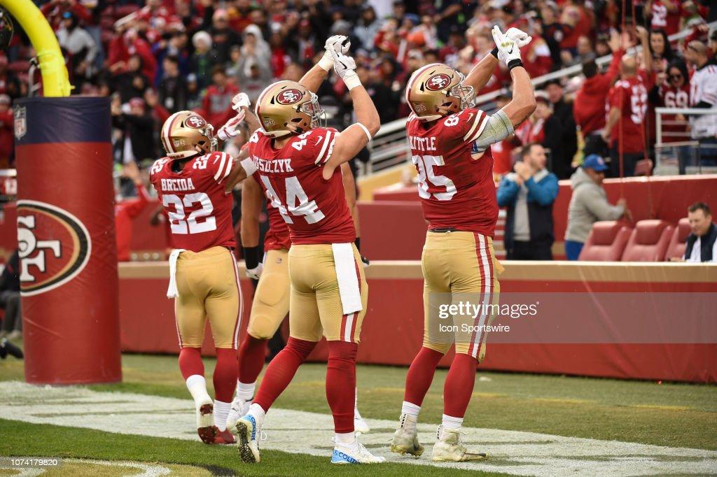 NFL: DEC 16 Seahawks at 49ers : News Photo