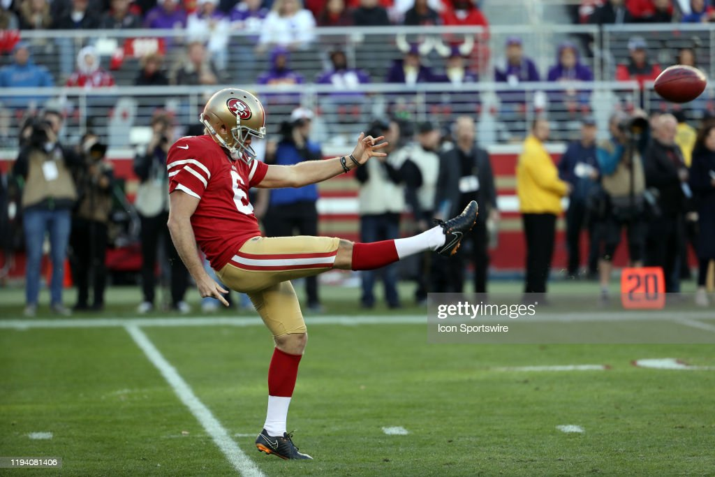 NFL: JAN 11 NFC Divisional Playoff - Vikings at 49ers : News Photo