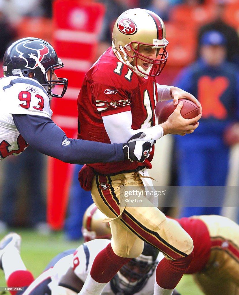 Houston Texans vs San Francisco 49ers - Janauary 1, 2006 : Foto jornalística