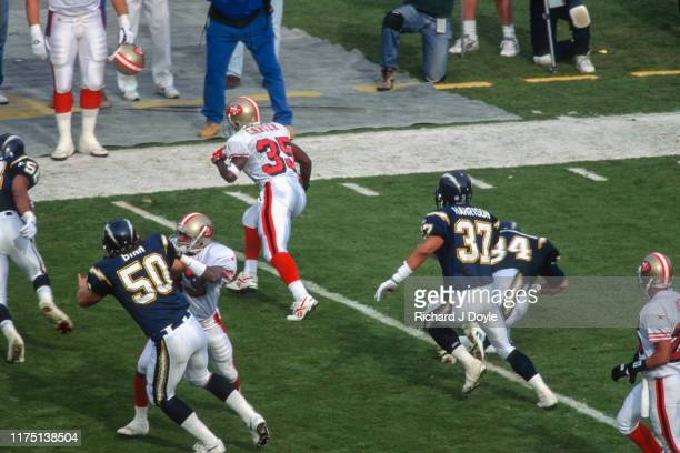 San Francisco 49ers vs San Diego Chargers at Jack Murphy Stadium in San Diego California