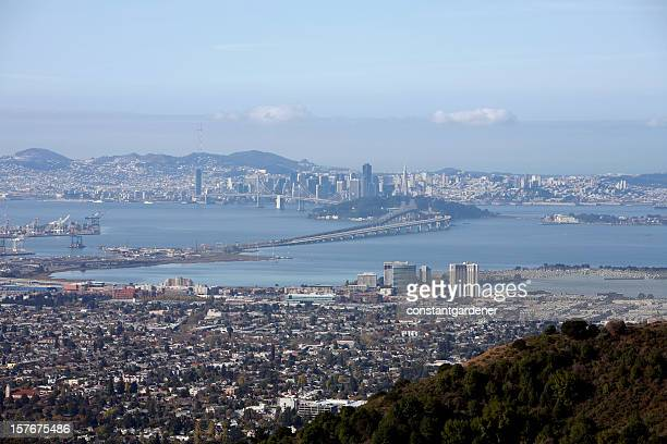 San Francisco And East Bay From The Berkeley Hills