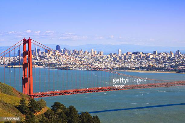 San Francisco and Golden Gate Bridge