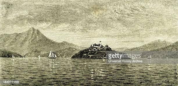 San Francisco Bay And Alcatraz Island Usa