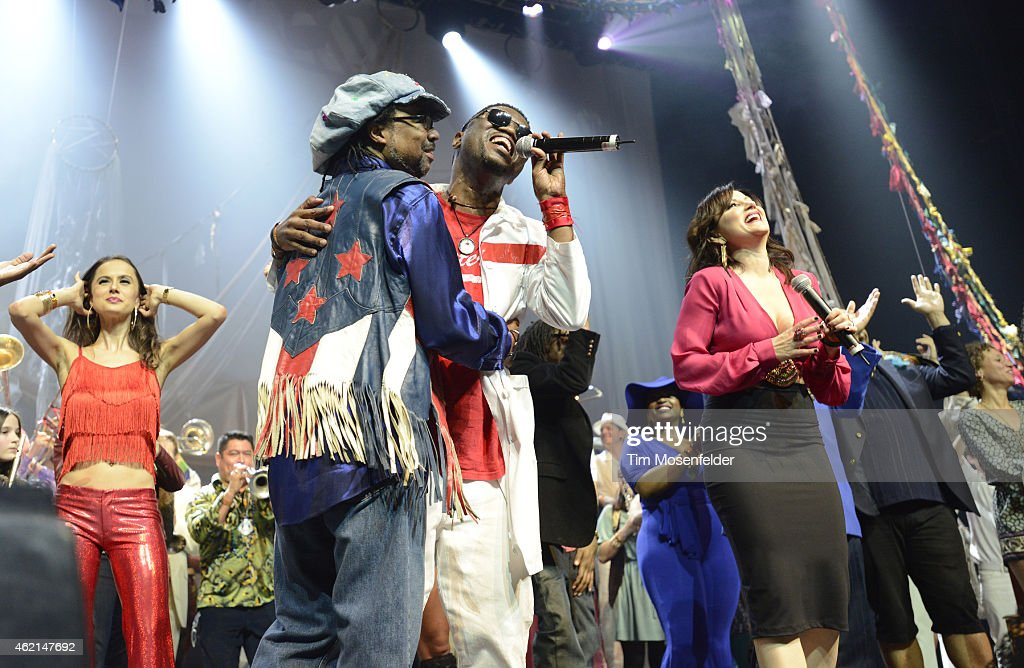San Francisco Bay Area musicians perform during 'Love City' A Convention and 'Stand!' concert Celebrating Sly & The Family Stone on January 24, 2015 in Oakland, California.