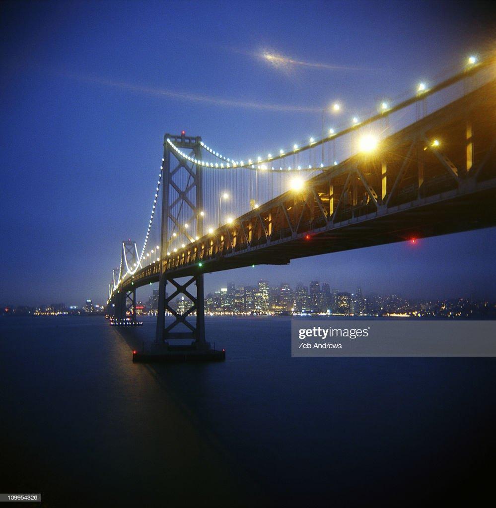 San Francisco Bay Bridge : Stock Photo