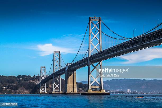 san francisco bay bridge - bay bridge stock pictures, royalty-free photos & images