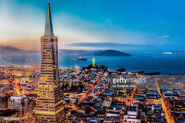 San Francisco Blue Hour Skyline
