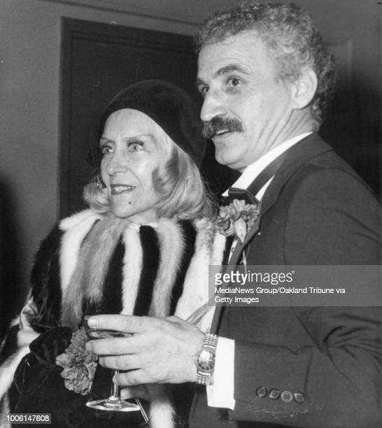 San Francisco CA January 28 1983 Gloria Swanson attend Patrick Campano a tribute at the Golden Gate Theatre #13#13Published January 31 1983