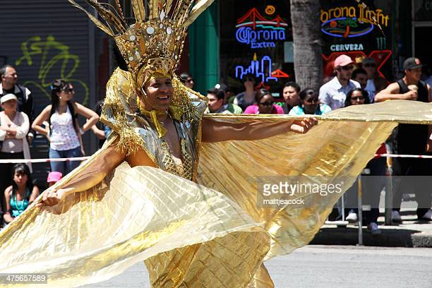 san francisco carnival - mission district stock photos and pictures