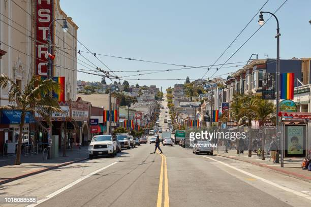 san francisco castro district - castro district stock pictures, royalty-free photos & images