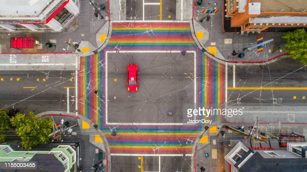 san francisco castro district - gay rights stock pictures, royalty-free photos & images