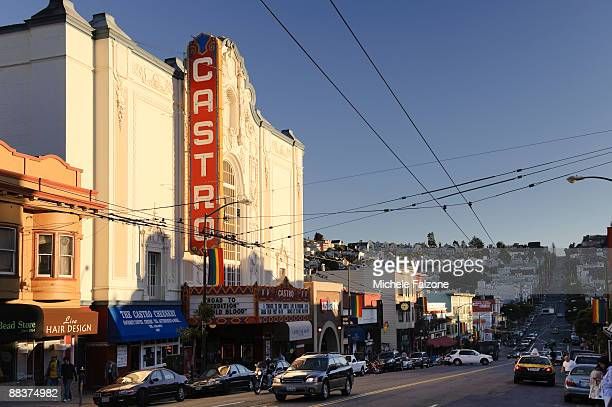 san francisco, castro street - castro district stock pictures, royalty-free photos & images
