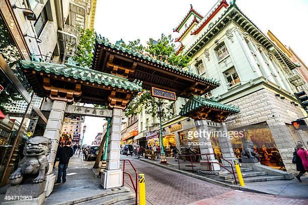 サンフランシスコのチャイナタウンの門