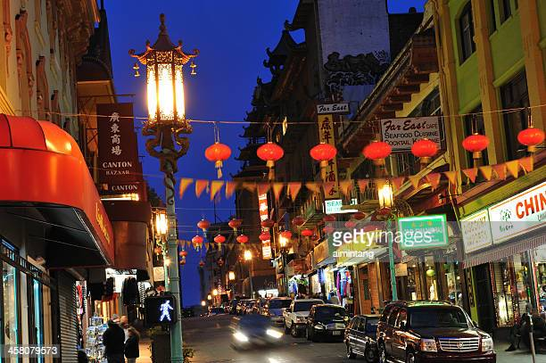 san francisco chinatown - san francisco chinatown stock photos and pictures