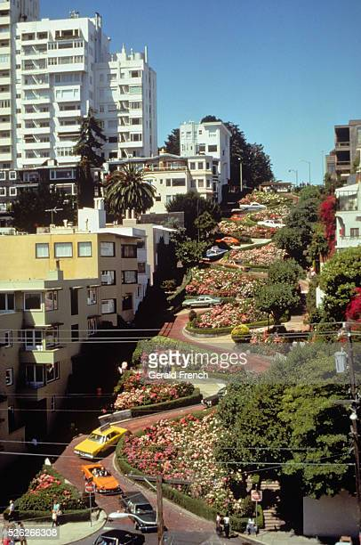 San Francisco Crookest Street in the World Lombard Street