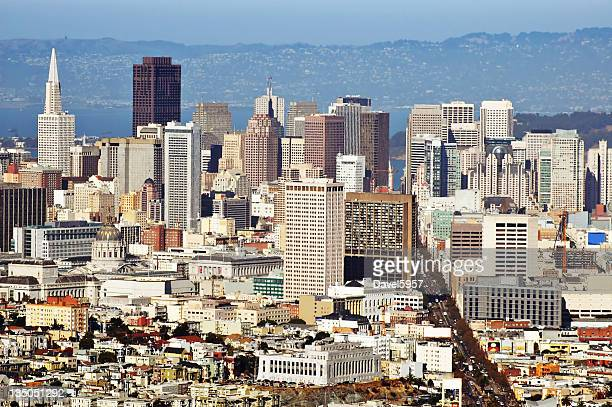 San Francisco Downtown aerial