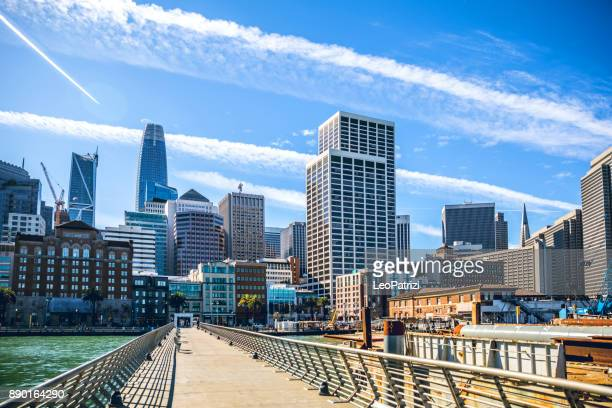 san francisco downtown modern building constructions - san diego stock pictures, royalty-free photos & images