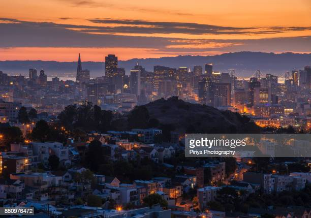 San Francisco Downtown Sunrise