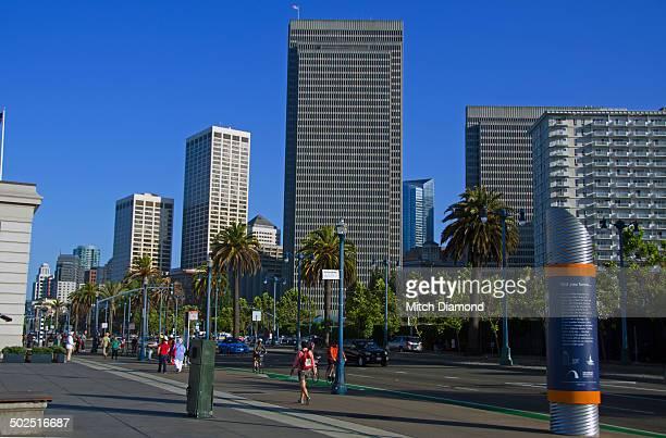 San Francisco Embarcadero skyline