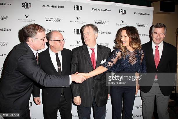 San Francisco Film Society Executive Director Noah Cowan Head of Marketing Distribution at Amazon Studios Bob Berney director Whit Stillman actress...