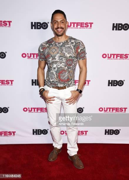San Francisco Gay Men's Chorus Executive Director Chris Verdugo arrives at the 2019 Outfest Los Angeles LGBTQ Film Festival Screening of Gay Chrous...